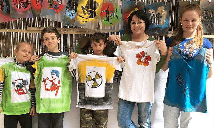 7 מיוריאל גרפיטי - סדנת גרפיטי לכל המשפחה, שכונת פלורנטין תל אביב