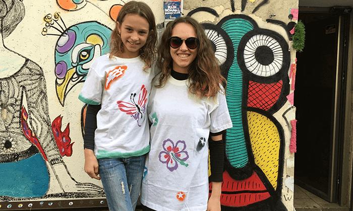 10 מיוריאל גרפיטי - סדנת גרפיטי לכל המשפחה, שכונת פלורנטין תל אביב