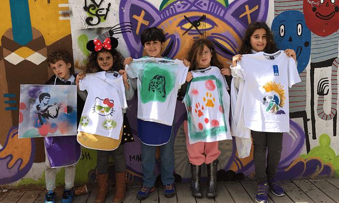 13 מיוריאל גרפיטי - סדנת גרפיטי לכל המשפחה, שכונת פלורנטין תל אביב