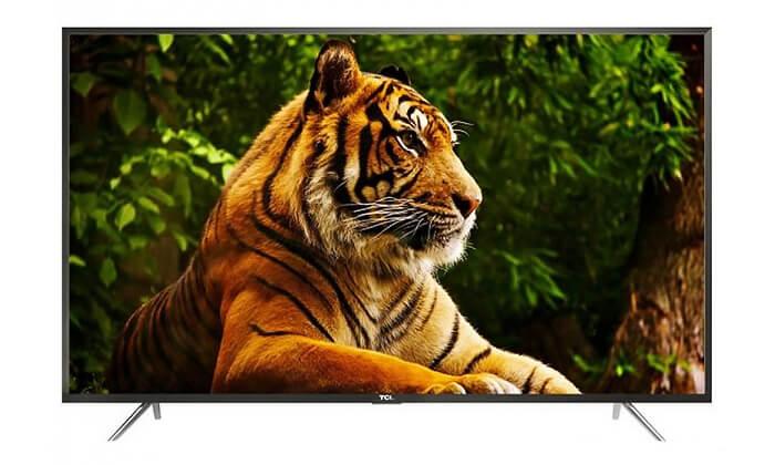 3 טלוויזיה SMART 4K TCL, מסך 60 אינץ'