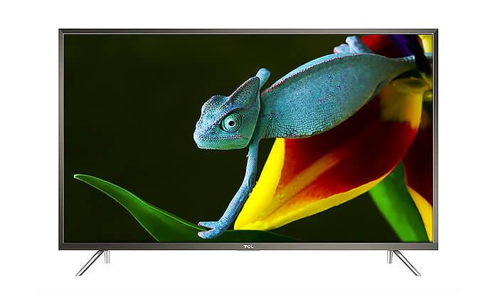 2 טלוויזיה SMART 4K TCL, מסך 60 אינץ'