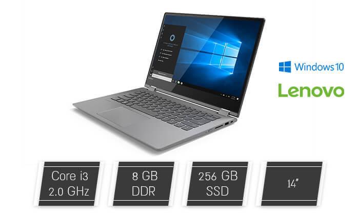 2  מחשב נייד לנובו LENOVO עם מסך מגע 14 אינץ' - משלוח חינם!