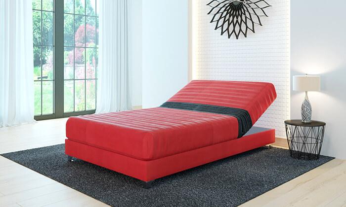 8  מיטה חשמלית אורטופדית ברוחב וחצי RAM DESIGN