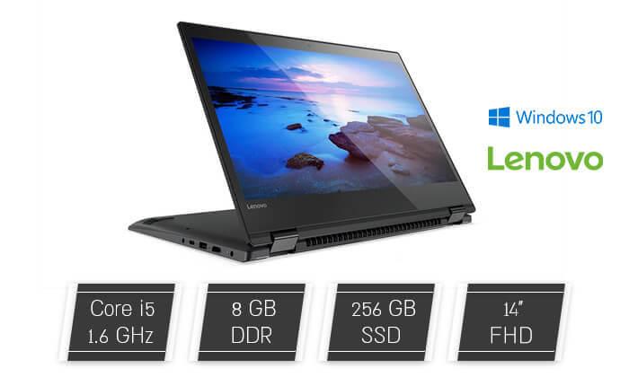 2  מחשב נייד לנובו LENOVO עם מסך מגע 14 אינץ'