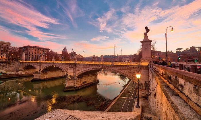 4 סוף שבוע רומנטי ברומא