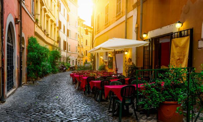 5 סוף שבוע רומנטי ברומא