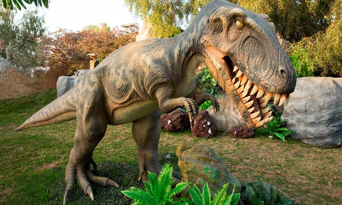 3 כרטיס לפסטיבל הגיימינג ותערוכת הדינוזאורים, רמת גן ואשדוד