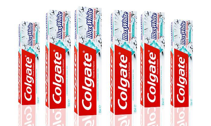 2 שש יחידות משחת שיניים קולגייט Colgate