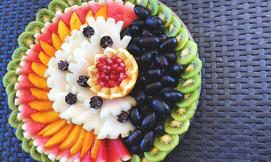 מגש פירות של 'פריטי פרי'