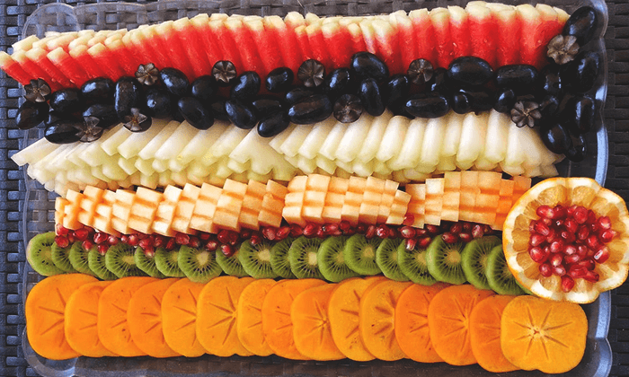 4 מגש פירות של 'פריטי פרי', משלוחים ברחבי הארץ