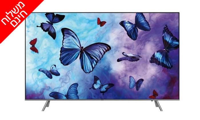 2 טלוויזיה SAMSUNG SMART 4K, מסך 65 אינץ' - משלוח חינם