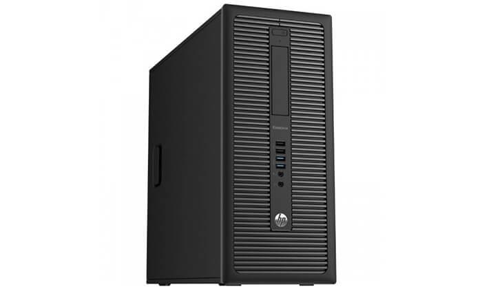4 מחשב נייח HP עם מקלדת ועכבר