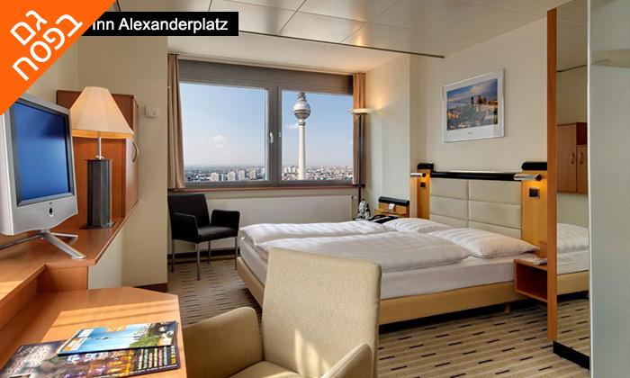 """9 חופשה בברלין, כולל סיור מודרך מתנה - תקף גם בסופ""""ש"""