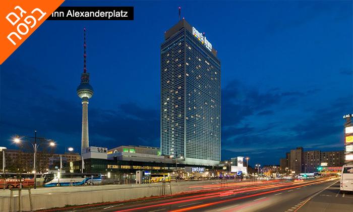 """11 חופשה בברלין, כולל סיור מודרך מתנה - תקף גם בסופ""""ש"""