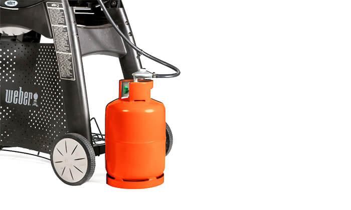 5 גריל גז מורכב Weber