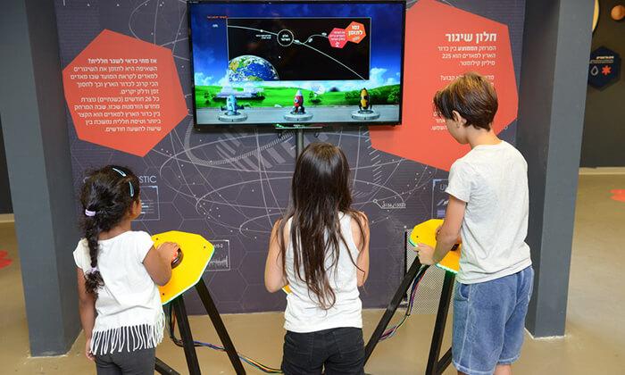 3 כניסה לפעילויות גן המדע ולתערוכה 'סיבוב על מאדים' במכון ויצמן, רחובות