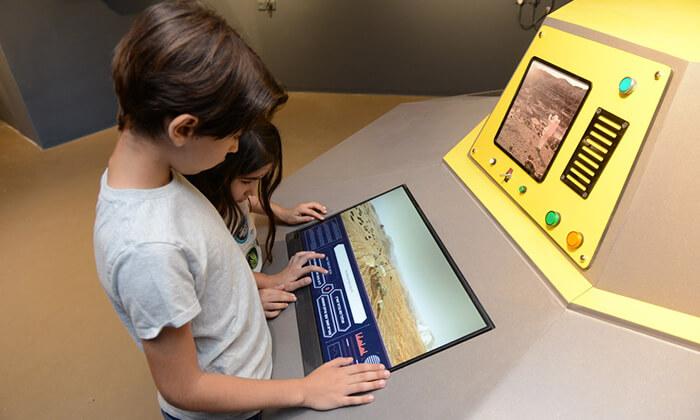 4 כניסה לפעילויות גן המדע ולתערוכה 'סיבוב על מאדים' במכון ויצמן, רחובות