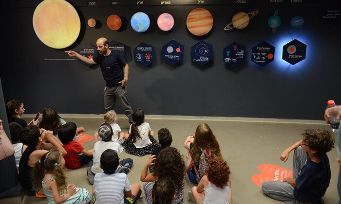 6 כניסה לפעילויות גן המדע ולתערוכה 'סיבוב על מאדים' במכון ויצמן, רחובות