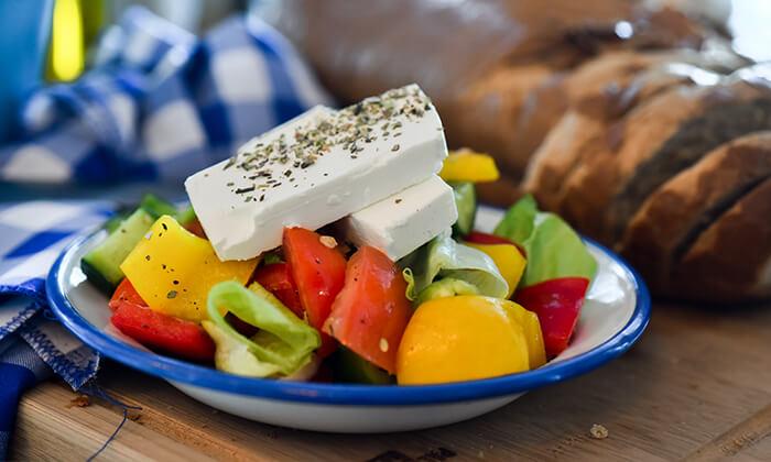 6 ארוחת טעימות יוונית זוגית בפלומרי Plomari 29 הכשרה, ראש פינה