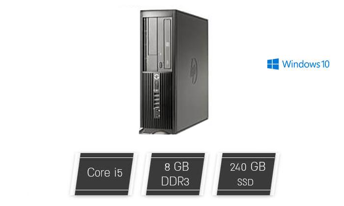 מחשב נייח DELL, HP או LENOVO עם מעבד i5 - משלוח חינם