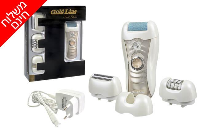 5 מכשיר להסרת שיער Gold Line - משלוח חינם!