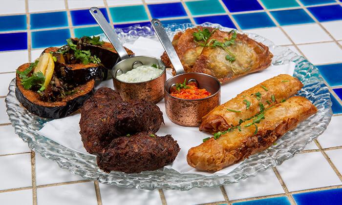 6 ארוחת טעימות יוונית זוגית במסעדת סופלקי הכשרה, נתניה