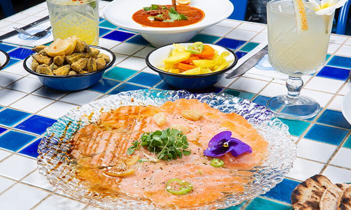 13 ארוחת טעימות יוונית זוגית במסעדת סופלקי הכשרה, נתניה