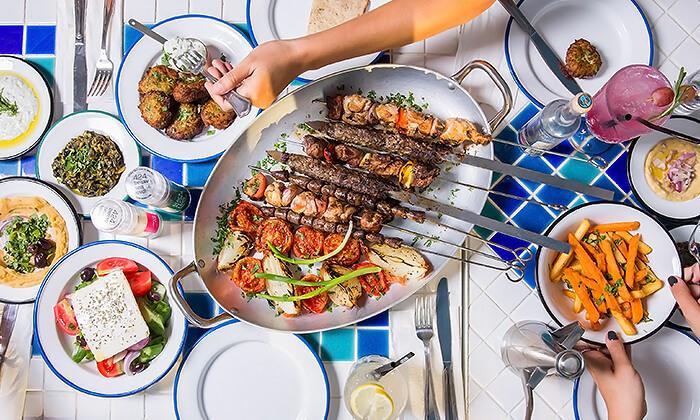 2 ארוחת טעימות יוונית זוגית במסעדת סופלקי הכשרה, נתניה