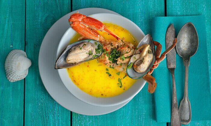 5 ארוחה במסעדת Palamida פלמידה, היצירה רמת גן
