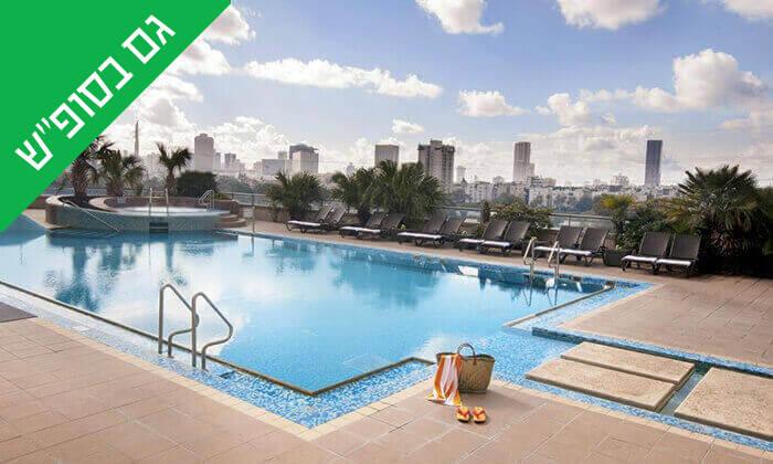 2 יום כיף בספא סיטי טאוור - מלון לאונרדו, תל אביב