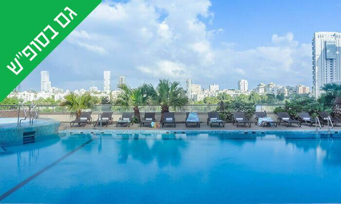 3 יום כיף בספא סיטי טאוור - מלון לאונרדו, תל אביב
