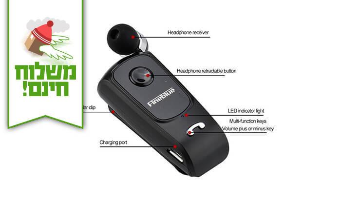 3 אוזניית Bluetooth אלחוטית - Fineblue
