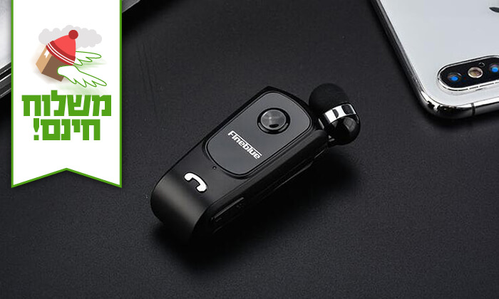 4 אוזניית Bluetooth אלחוטית - Fineblue