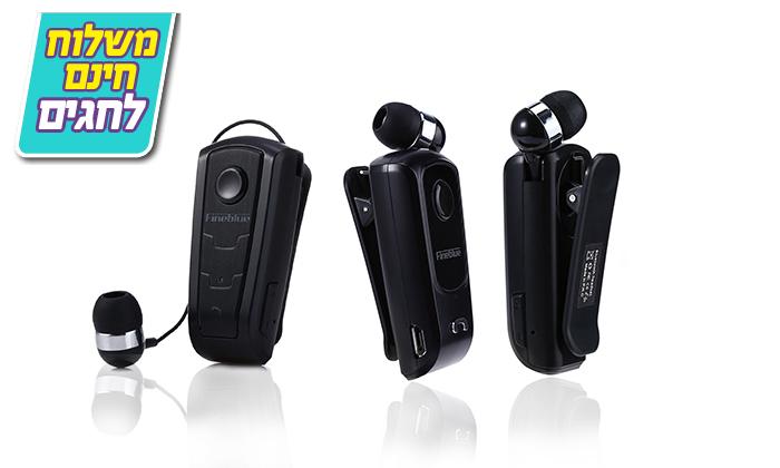2 אוזניית Bluetooth אלחוטית - Fineblue- כולל משלוח חינם!