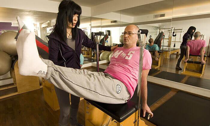 4 יוגה ואימוני כושר בסטודיו מרום פילאטיס, רמת גן