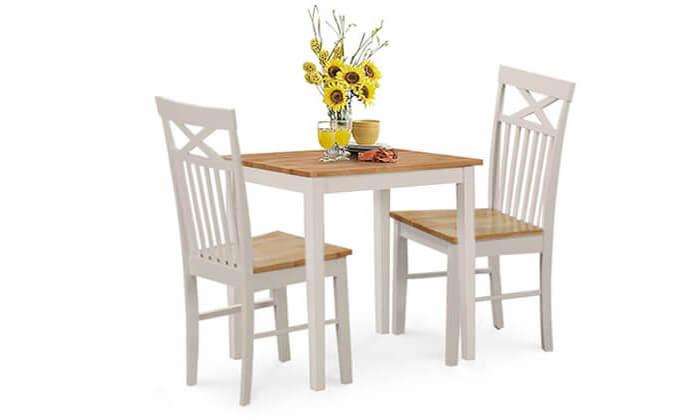 3 שמרת הזורע: פינת אוכל נפתחת עם 2 כיסאות