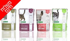 24 יחידות מזון רטוב לחתולים