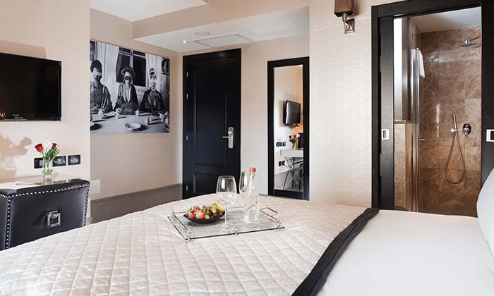 """10 חופשה במלון בוטיק B ברדיצ׳בסקי ת""""א, כולל עיסוי זוגי"""