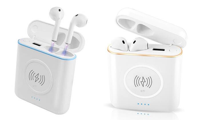 2 זוג אוזניות Bluetooth אלחוטיות