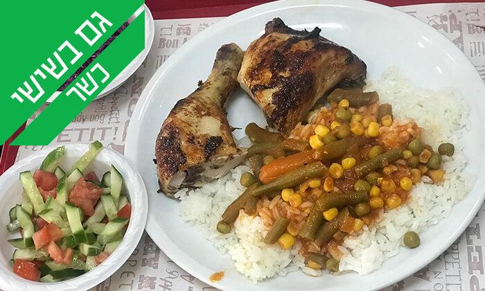 4 ארוחה במסעדת 'עוף אקספרס' הכשרה, חולון