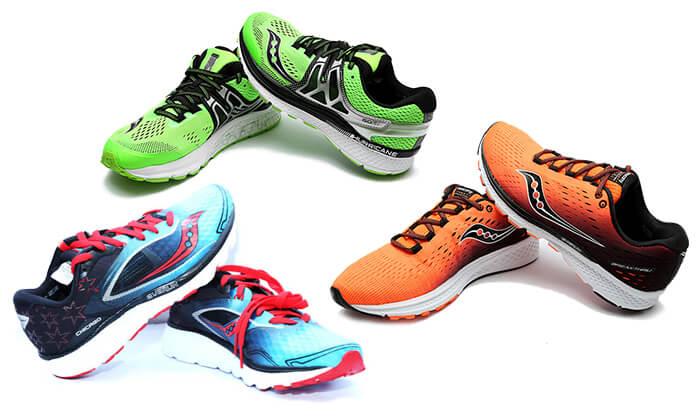 2 נעלי ספורט לגברים SAUCONY TEC