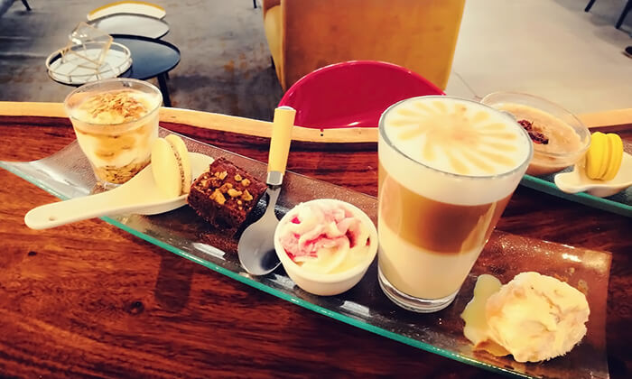 5 ארוחת בוקר או קינוח קפה גורמנד - קפה פרנץ' סטייל מלון שני, ירושלים