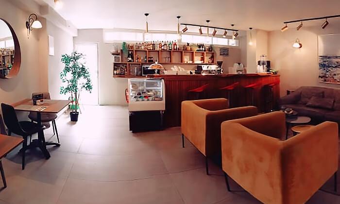 6 ארוחת בוקר או קינוח קפה גורמנד - קפה פרנץ' סטייל מלון שני, ירושלים
