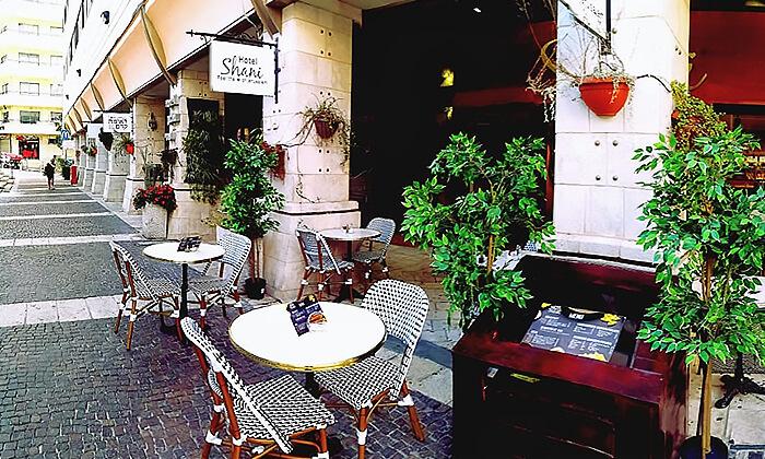 7 ארוחת בוקר או קינוח קפה גורמנד - קפה פרנץ' סטייל מלון שני, ירושלים