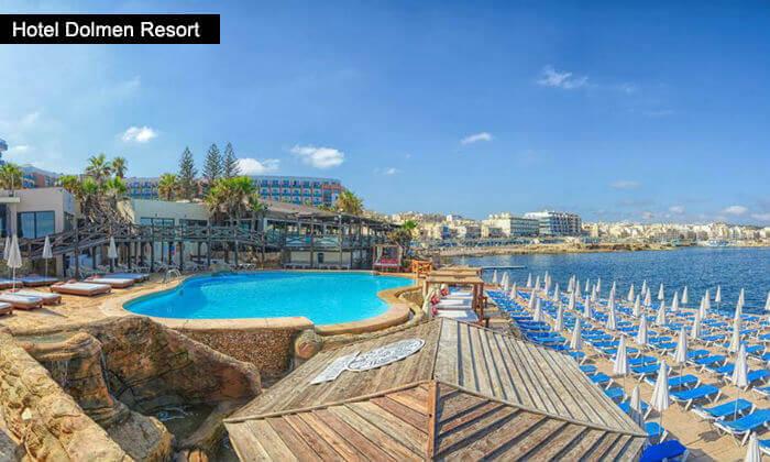 4 חופשה במלטה במלון עם קזינו, כולל כניסה לאקוורים
