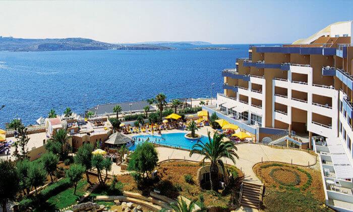 3 חופשה במלטה במלון עם קזינו, כולל כניסה לאקוורים