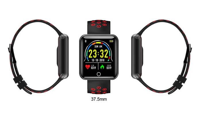 5 שעון ספורט חכם עם תצוגת LED