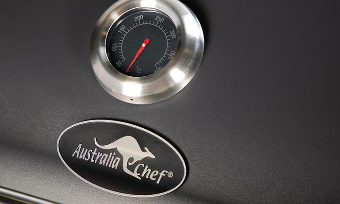 5 גריל גז 2 מבערים Australia Chef