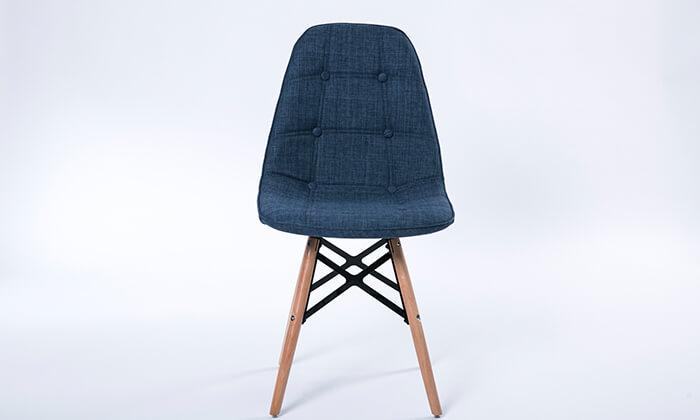 3 כיסא אוכל מרופד