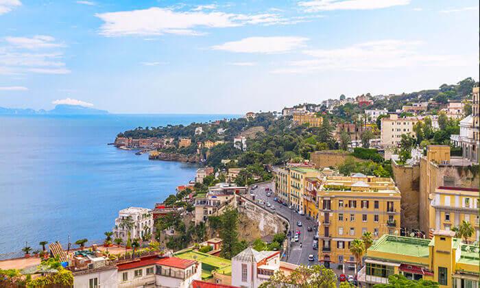 """2 חבילת """"טוס וסע"""" לדרום איטליה, כולל פסח"""